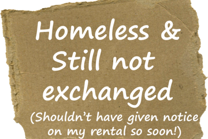 First Time Buyers Homeless after Handing Notice to Landlord
