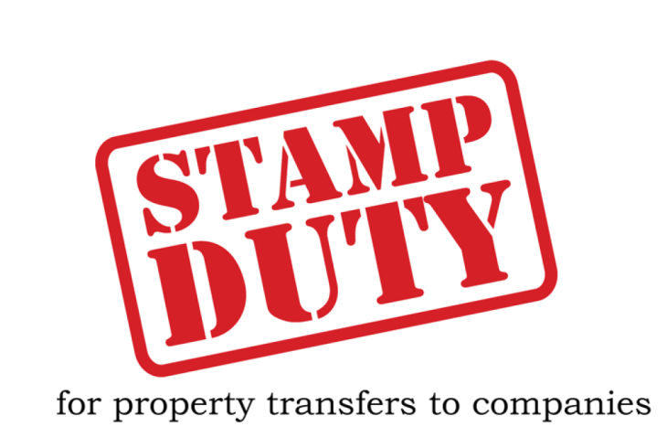 Stamp Duty for Transferring Property to Company