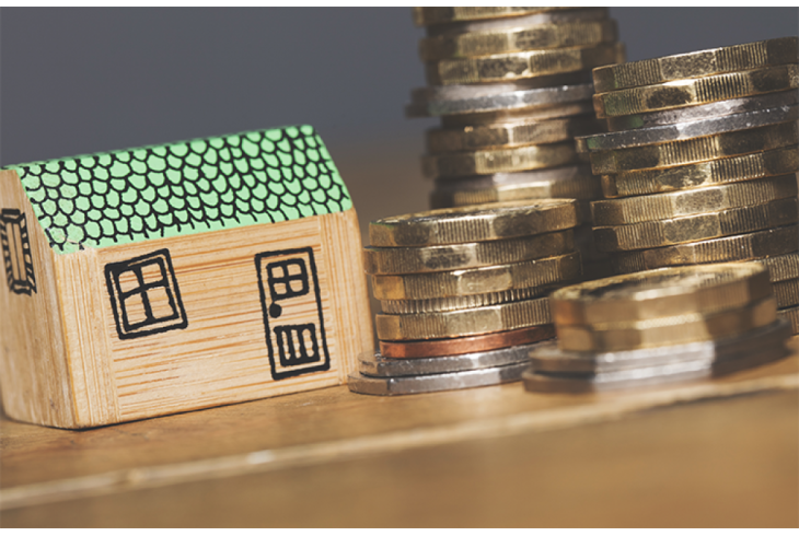 When do you pay your house deposit?