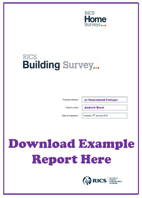 Building Survey Example