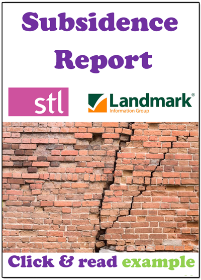 Subsidence Report for Cracks