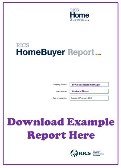 HomeBuyer Report Example