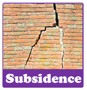 Subsidence | House survey problems