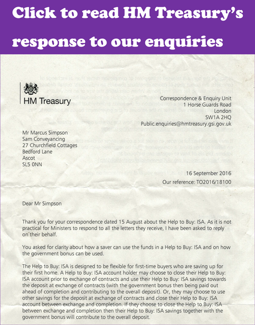 Treasury-responds-to-SAM-Conveyancing-Help-to-Buy-ISA-enquiry